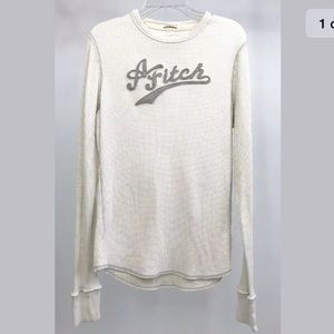 Abercrombie & Fitch Muscle Shirt Thermal Waffle L